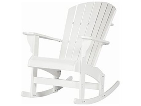 Windward Design Group Adirondack Marine Grade Polymer Rocking Chair PatioLiving