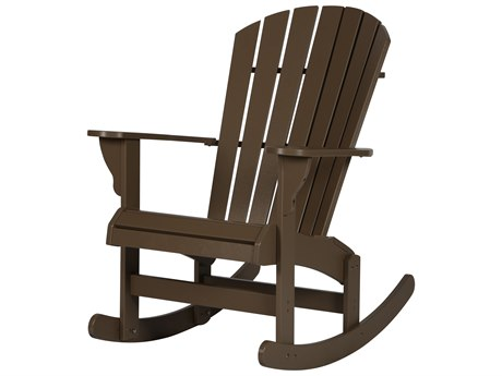 Windward Design Group Adirondack Marine Grade Polymer Rocking Chair - Comfort Height PatioLiving