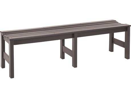Windward Design Group Kingston Solid Marine Grade Polymer Bench