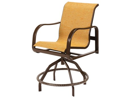 Windward Design Group Sonata Sling AluminumSwivel Balcony Chair