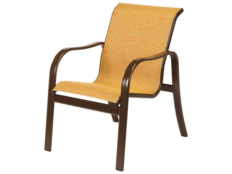 Windward Design Group Sonata Sling Aluminum Dining Arm Chair