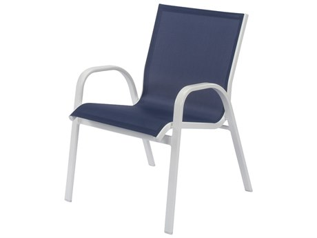 Windward Design Group Seabreeze Sling Aluminum Dining Chair