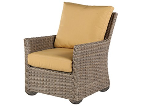 Windward Design Group Oxford Deep Seating Aluminum Wicker Lounge Chair