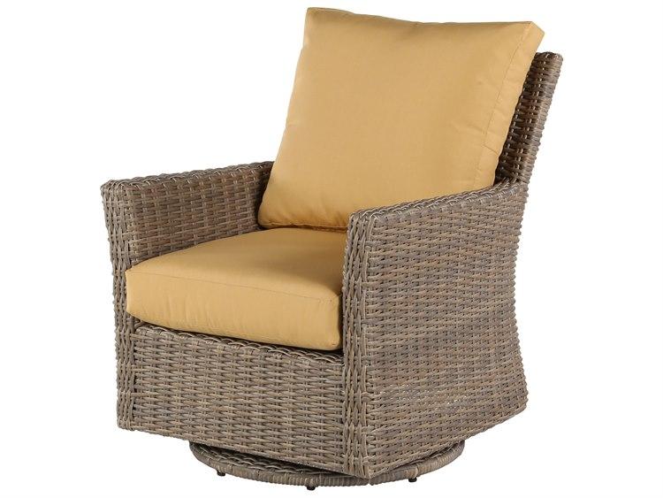 Excellent Windward Design Group Oxford Deep Seating Aluminum Wicker Lounge Chair Swivel Glider Unemploymentrelief Wooden Chair Designs For Living Room Unemploymentrelieforg