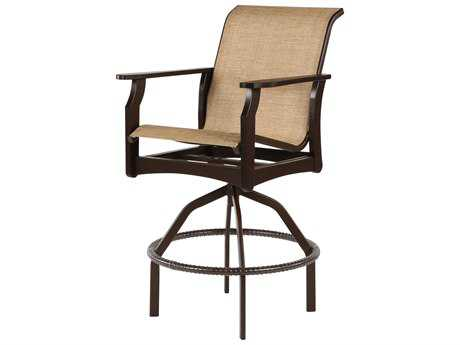 Windward Design Group Covina Sling Mgp Swivel Balcony Chair