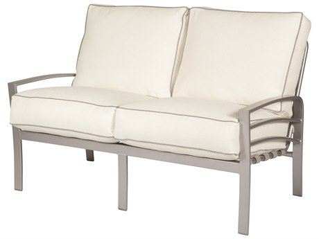 Windward Design Group Skyway Deep Seating Aluminum Cushion Loveseat