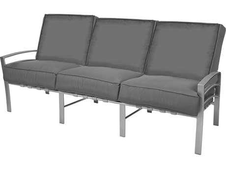 Windward Design Group Skyway Deep Seating Aluminum Cushion Sofa