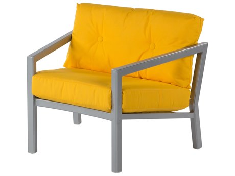 Windward Design Group Madrid Deep Seating Aluminum Cushion Lounge Chair