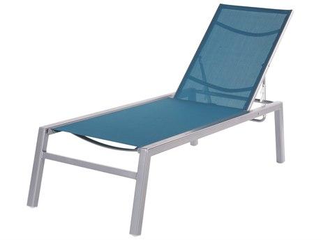 Windward Design Group Madrid Sling Aluminum Chaise Lounge