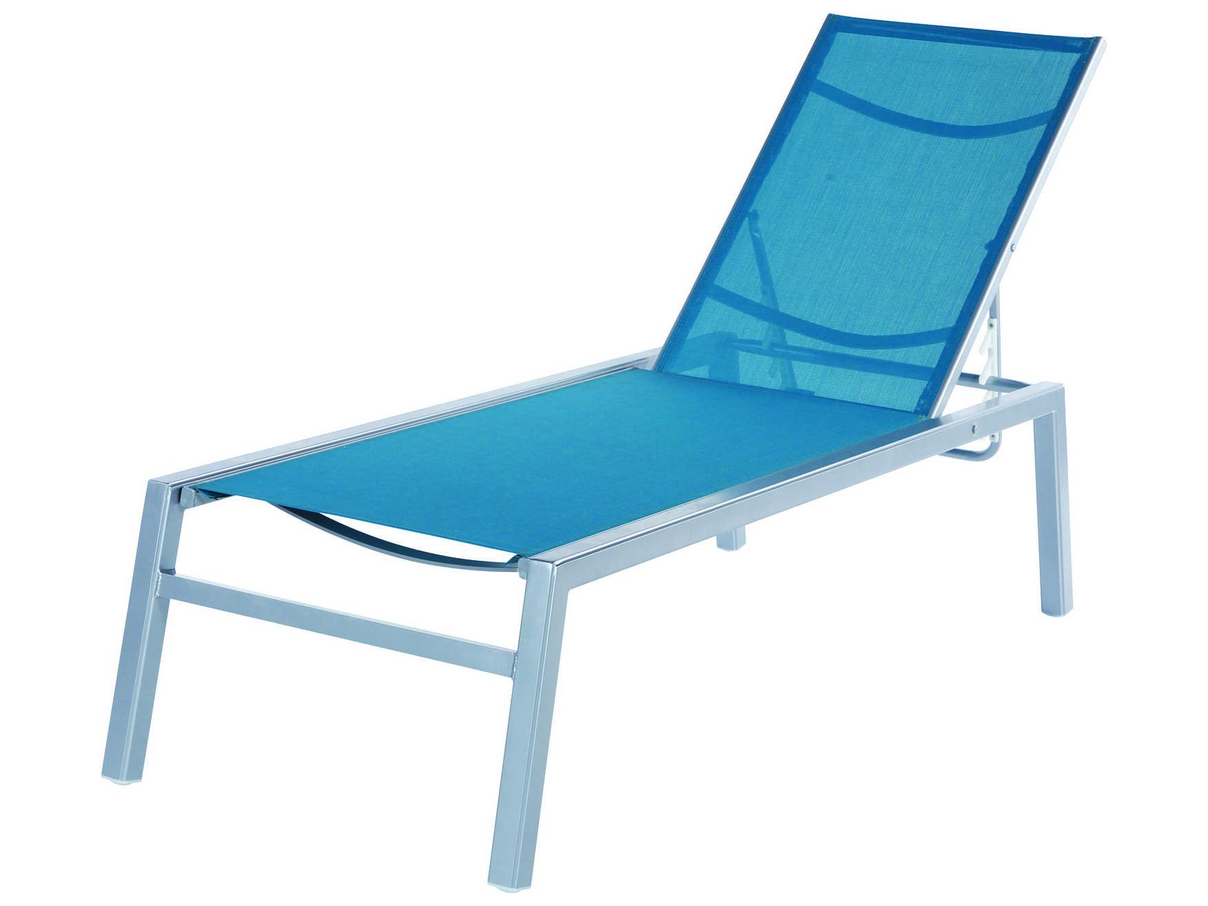 Windward design group madrid sling aluminum chaise lounge for Aluminum sling chaise lounge