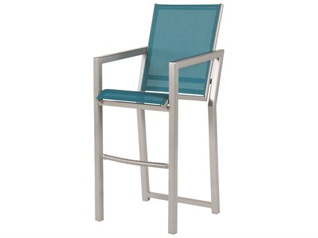 Windward Design Group Madrid Sling Aluminum Bar Chair