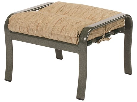 Windward Design Group Sonata Cushion Aluminum Ottoman