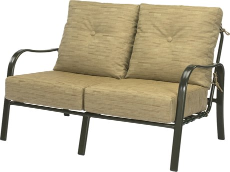 Windward Design Group Sonata Deep Seating Aluminum Loveseat
