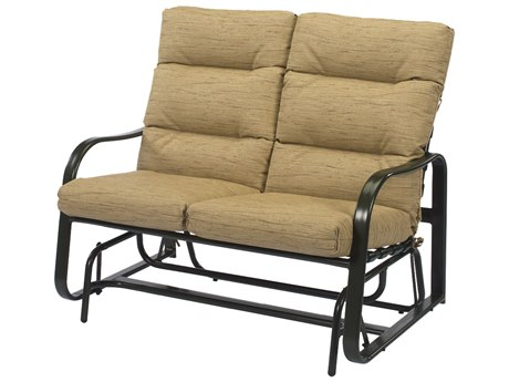 Windward Design Group Sonata Cushion Aluminum Loveseat Glider