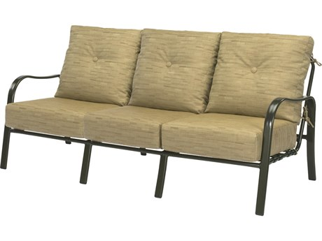 Windward Design Group Sonata Deep Seating Aluminum Sofa
