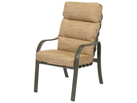 Windward Design Group Sonata Cushion Aluminum Dining Arm Chair