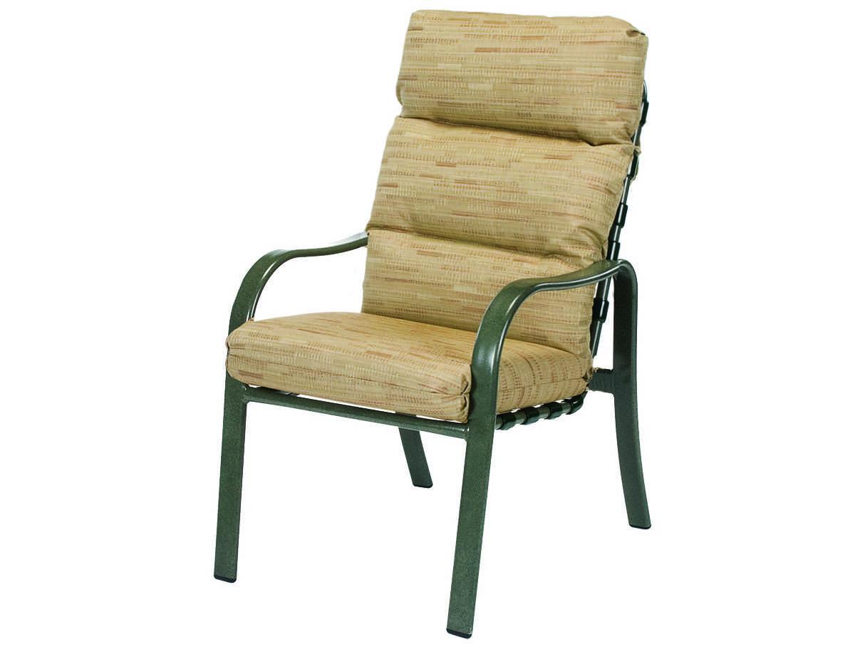 Windward Design Group Sonata Cushion Aluminum Dining Arm ...