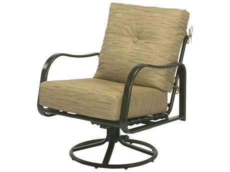 Windward Design Group Sonata Deep Seating Aluminum Lounge Chair Swivel Rocker