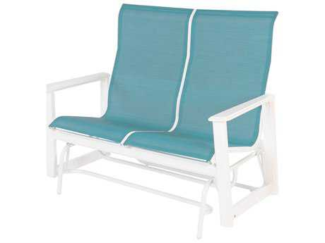 Windward Design Group Hampton Sling Mgp High Back Loveseat Glider