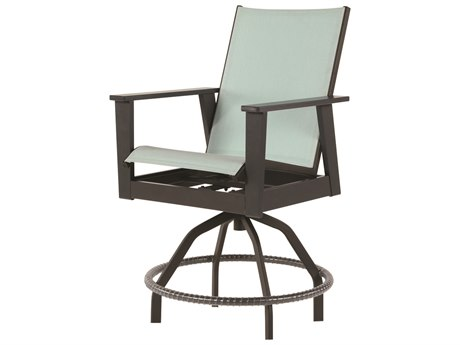 Windward Design Group Sienna Sling Marine Grade Polymer Swivel Balcony Chair