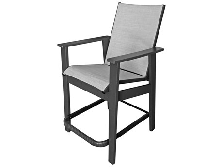 Windward Design Group Sienna Sling Marine Grade Polymer Bar Chair