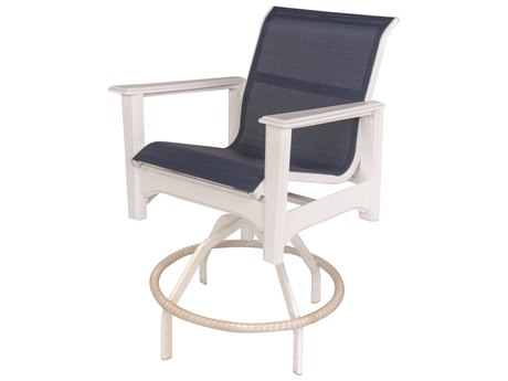 Windward Design Group Cape Cod Sling Mgp Swivel Bar Chair