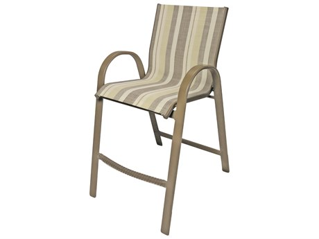 Windward Design Group Anna Maria Sling Aluminum Bar Chair