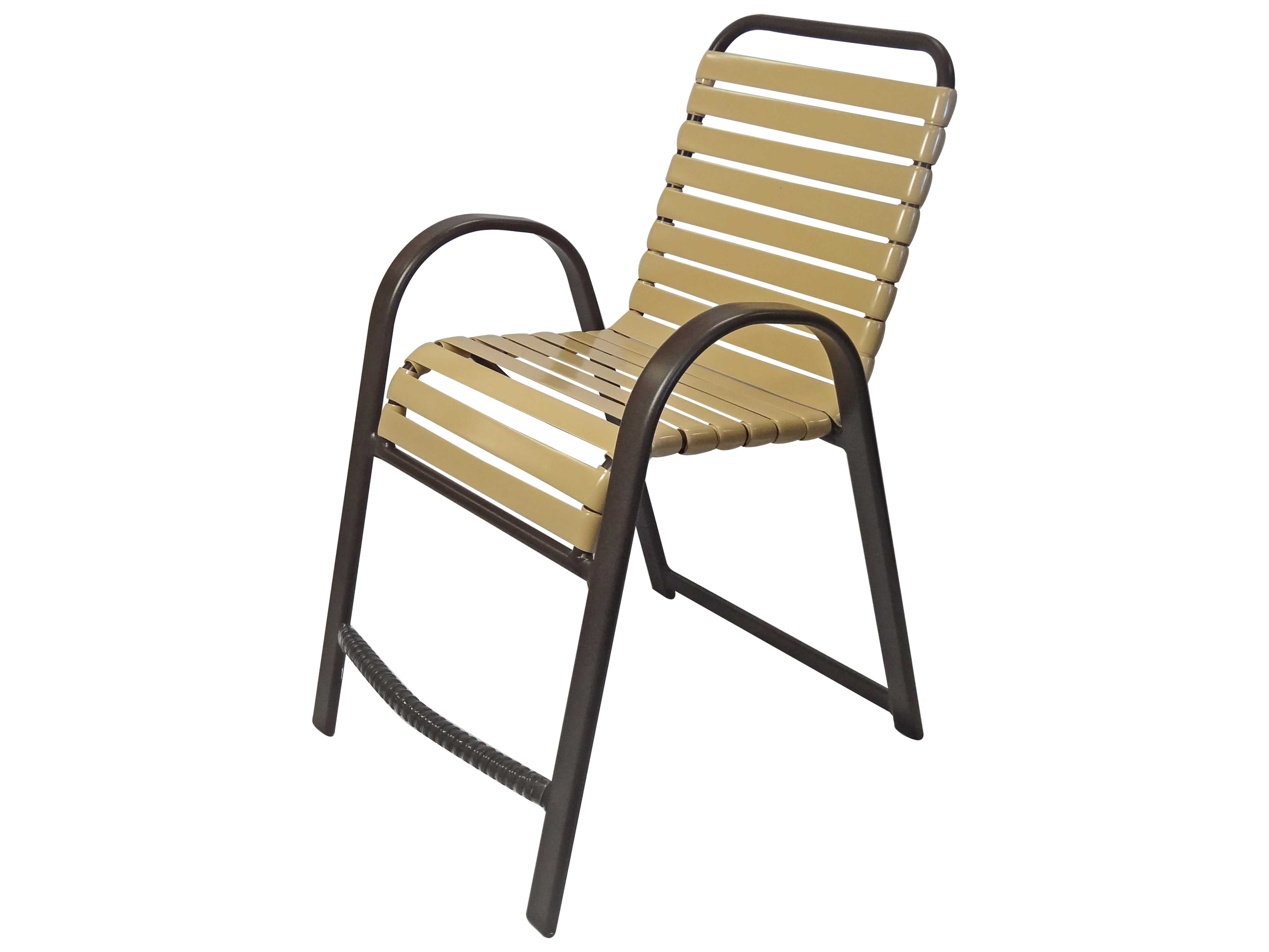 Windward Design Group Anna Maria Strap Aluminum Balcony Chair