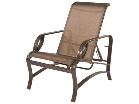 Windward Design Group Eclipse Sling Cast Aluminum Recliner