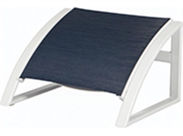 Windward Design Group Phoenix Sling Aluminum Ottoman PatioLiving
