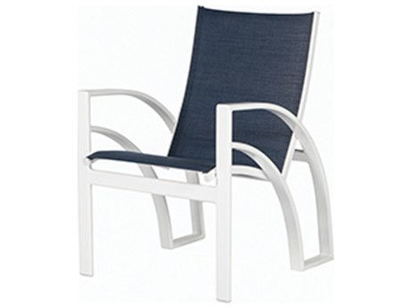 Windward Design Group Phoenix Sling Aluminum Dining Arm Chair