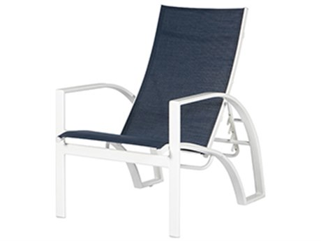 Windward Design Group Phoenix Sling Aluminum Recliner Lounge Chair