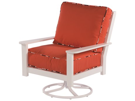 Windward Design Group Sanibel Sectional Marine Grade Polymer Lounge Chair Swivel Rocker