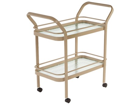 Windward Design Group Accessories Aluminum Glass Serving Cart