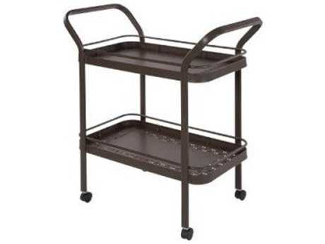 Windward Design Group Accessories Serving Cart Sunburst Punched Aluminum Top