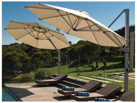 Windward Design Group Haven Cantilever 10 Square Crank Umbrella