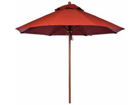 Windward Design Group Tahiti Fiberglass Market 9 Feet Wide Crank Lift Umbrella
