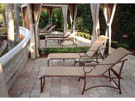 Windward Design Group West Wind Sling Aluminum Lounge Set