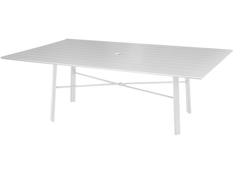 Windward Design Group Hartford Mgp Aluminum 44 x 22 Rectangular Coffee Table