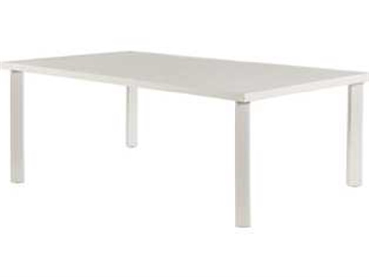 Windward design group avalon punched aluminum 40 x 24 for Coffee table 40 x 24