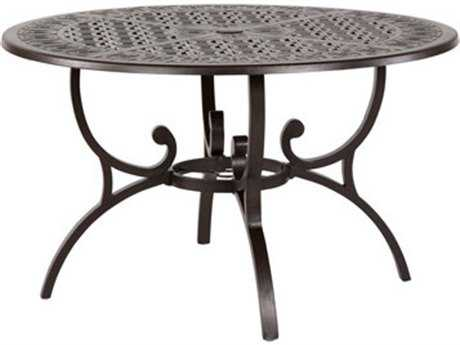 Windward Design Group Versailles Deep Seating Cast Aluminum 48 Round Coffee Table