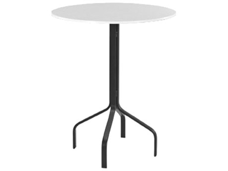 Windward Design Group Fiberglass Top Aluminum 30 Round Bar Table WINWT3018BF