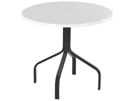 Windward Design Group Fiberglass Top Aluminum 30 Round Dining Table