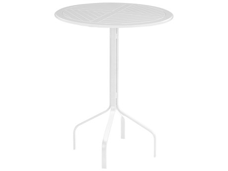 Windward Design Group Hartford Mgp Aluminum 30 Round Bar Table