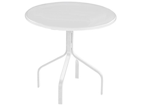 Windward Design Group Plain Mgp Aluminum 30''Wide Round Dining Table