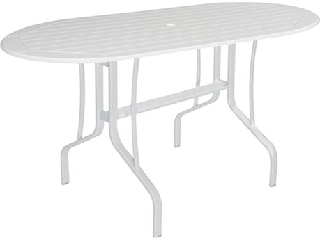 Windward Design Group Newport Mgp 60 x 30 Oval Balcony Table