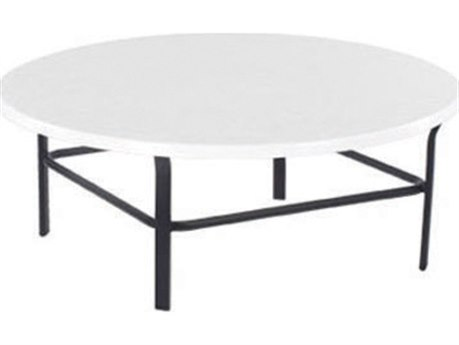 Windward Design Group Fiberglass Top Aluminum 36 Round Table