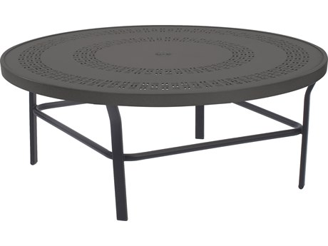 Windward Design Group Mayan Punched Aluminum 36 Round Table