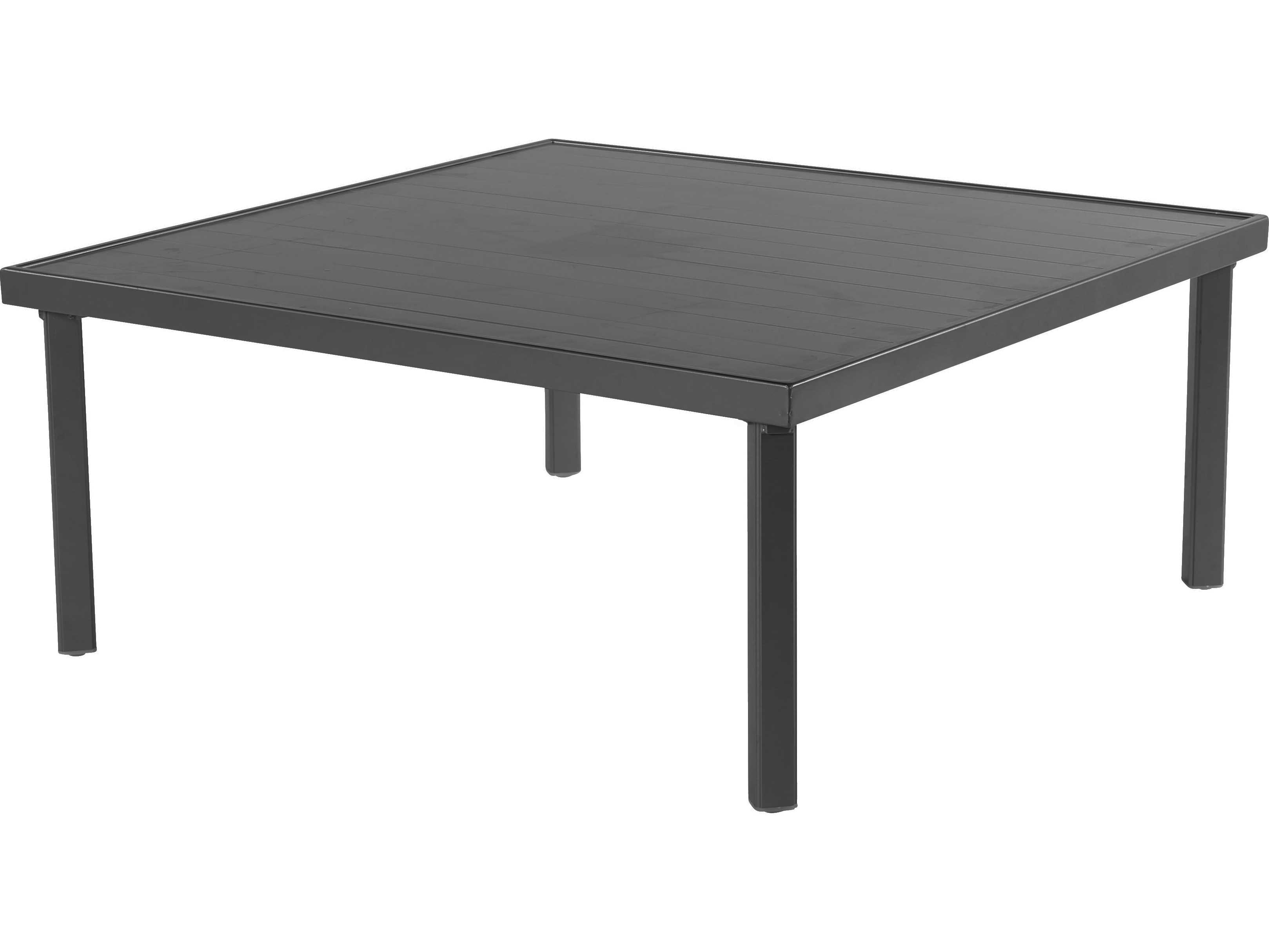 Windward Design Group Avalon Punched Aluminum 39 Square Table
