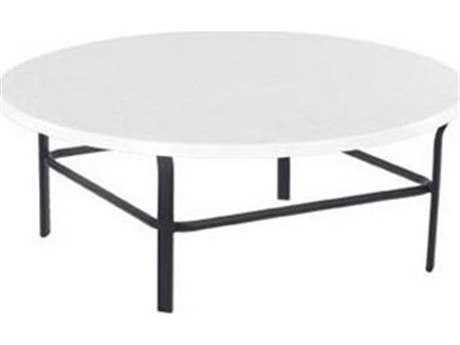 Windward Design Group Fiberglass Top Aluminum 42 Round Table